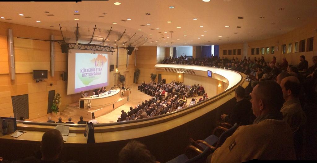 Közterületek biztonsága konferencia 2o14