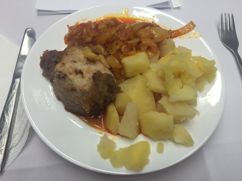 az ebéd